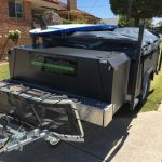 optional boat rack for camper trailer hire in perth