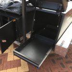 forward fridge compartment