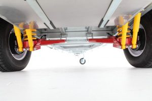 Camper Trailer suspension