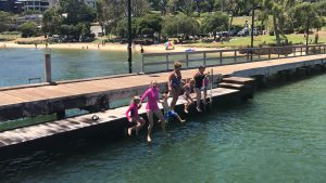Bicton Baths Jump Days Out