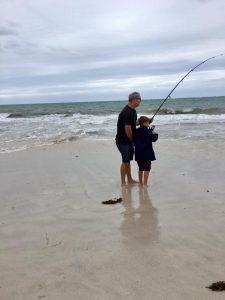 Fishing at Ledge Point