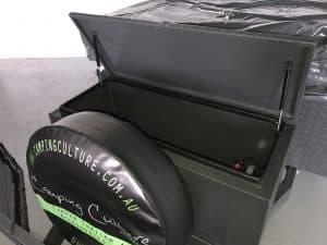 Forward storage Compartment