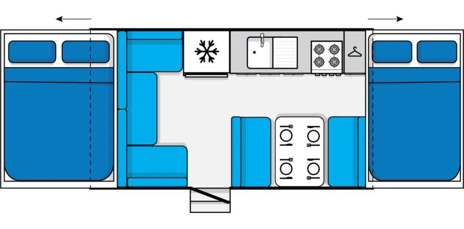 Jayco Eagle Floor Plan